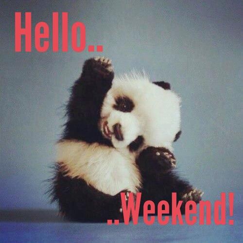 Nareszcie sobota, czas zacząć weekend!