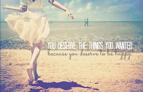 Zasługujesz na to