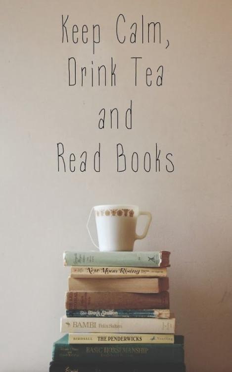 Herbata i dobra książka to idealne połączenie