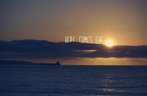 Nadchodzi słoneczko!