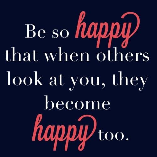 Szczęście to trochę taka choroba zaraźliwa