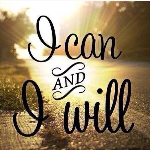 Mogę i (to) zrobię !