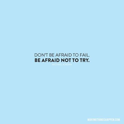 Nie bój się porażki