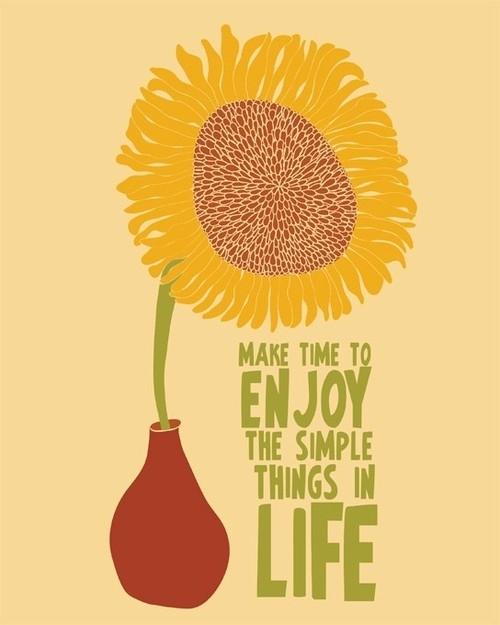 Zwolnij tempo i ciesz się z małych rzeczy