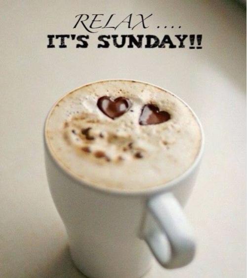 Dzień dobry w ten piękny niedzielny poranek