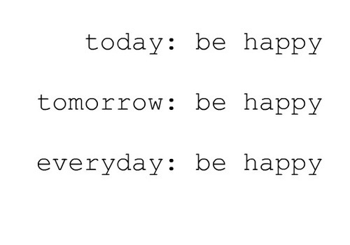 Bądź szczęśliwy