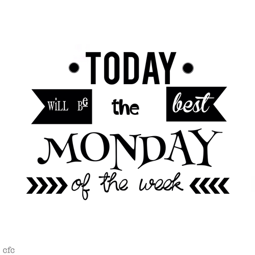 Poniedziałeczek!