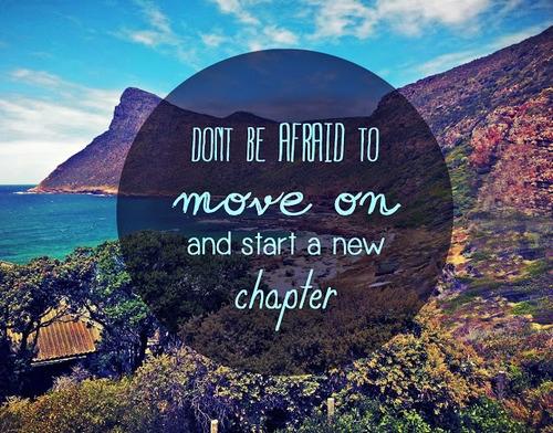 Nie bój się iść na przód