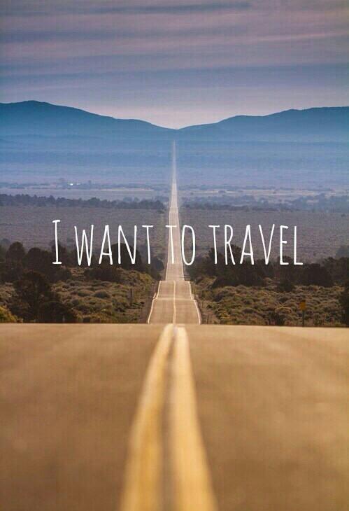 Ja chcę podróżować!