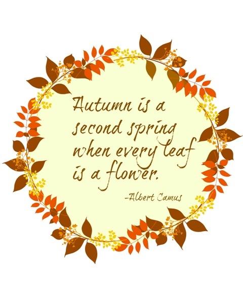 Jesień jest drugą wiosną