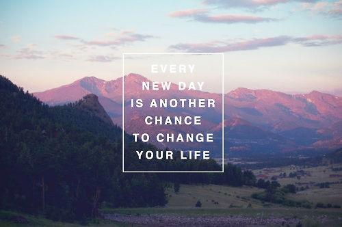 Każdy nowy dzień daje nam kolejną szansę na spełnianie marzeń, do dzieła!