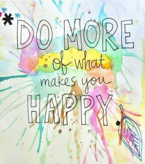 Dziś zrób coś co kochasz