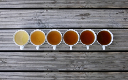 Kolory herbacianego szczęścia