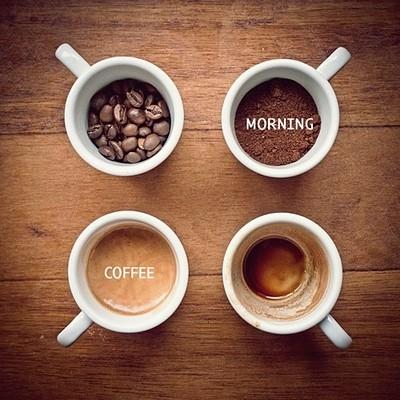 Poranna kawa, czas start.