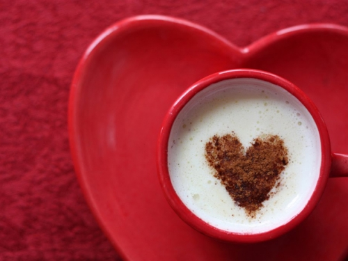 Walentynkowa kawunia