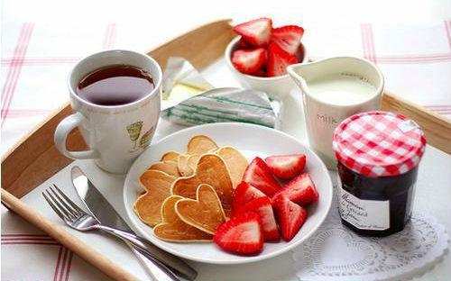 Śniadanie ze szczyptą miłości