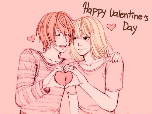 Życzymy wszystkim szczęśliwych Walentynek