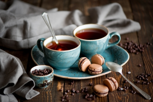 Śniadanie z herbatką
