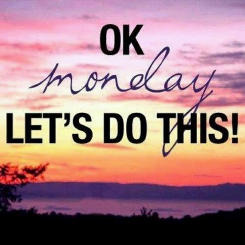 Nie straszny nam poniedziałek