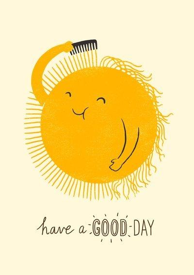 Słoneczko życzy Wam udanego dnia
