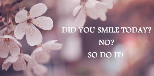 Pamiętasz o codziennym uśmiechu?